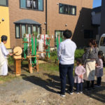 地鎮祭に出席しました。(弘前市中野)